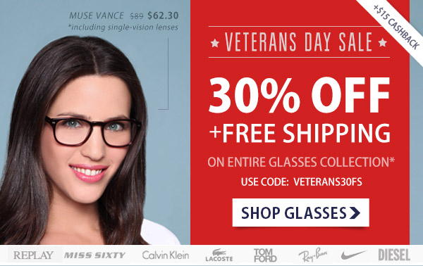 30% Off of Frames + Free Shipping!