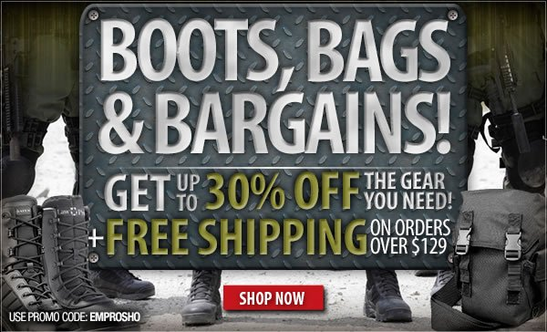 Get Up To 30 percent Off the Gear You Need + Free Shipping on Orders Over 129 dollars