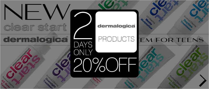New Dermalogica Clear Start, Plus 20% Off on All Dermalogica Products