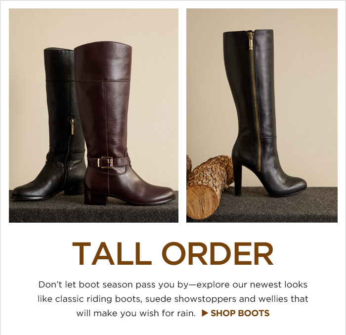 TALL ORDER | SHOP BOOTS
