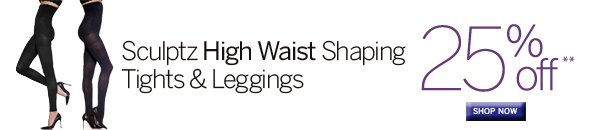 Sculptz High Waist Shaping