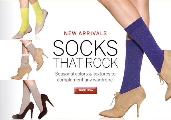 Come see what Silkies has new for the fall season in their Sock department.Plus receive free standard shipping on all orders of $40 or more.