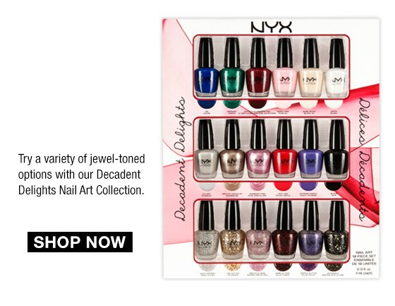 Decadent Delights Nail Art Collection - Shop Now