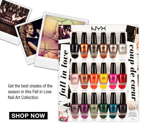 Fall in Love Nail Art Collection - Shop Now