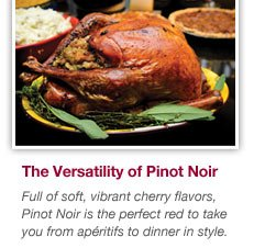 Discover the versatility of Pinot Noir