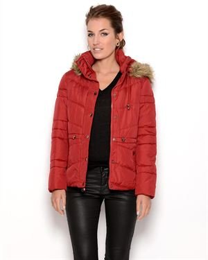 Marvin Richards Detachable Hooded Faux Fur Lined Jacket