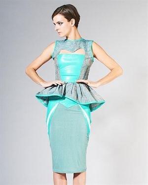 Nuvula Panel Design Slim Skirt
