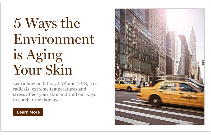 5 Ways the Environment is Aging Your Skin