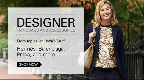 Designer handbags and accessories from Linda's Stuff