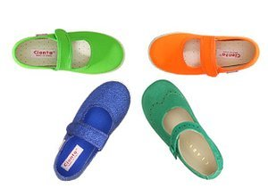 Crazy for Color: Kids' Shoes