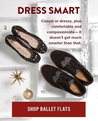 Dress Smart - Shop Ballet Flats