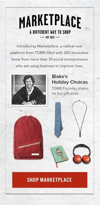 Blake's Holiday Choices - Shop Marketplace