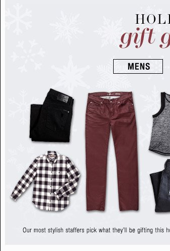 Holiday Gift Guide - Mens