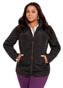Zip Pocket Quilted Jacket