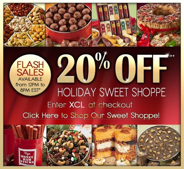 20% OFF** SWEET SHOPPE