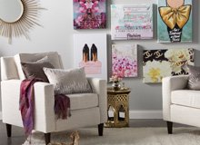 Décor for the Glam Girl