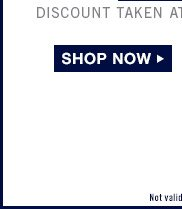 DISCOUNT TAKEN AT REGISTER IN STORES. | SHOP NOW | Not valid at Gap Outlet.