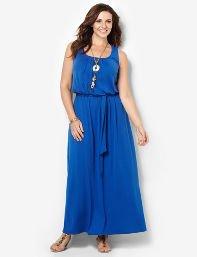 Fit & Flatter Maxi Dress