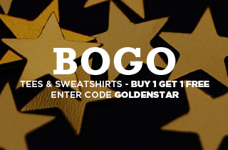 Golden Stars: Tees & Sweatshirts