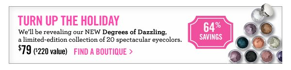 Degrees of Dazzling, $79 ($220)