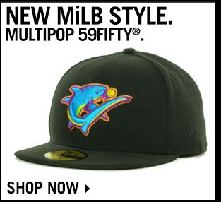 Shop The New MiLB Style Multipop 59FIFTY