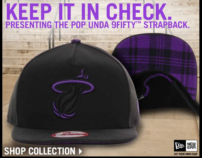 Shop the Pop Unda 9FIFTY Strapback Collection