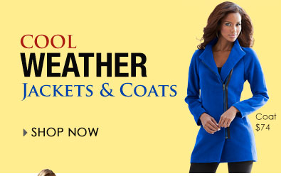 SHOP Cool Weather Jackets and Coats