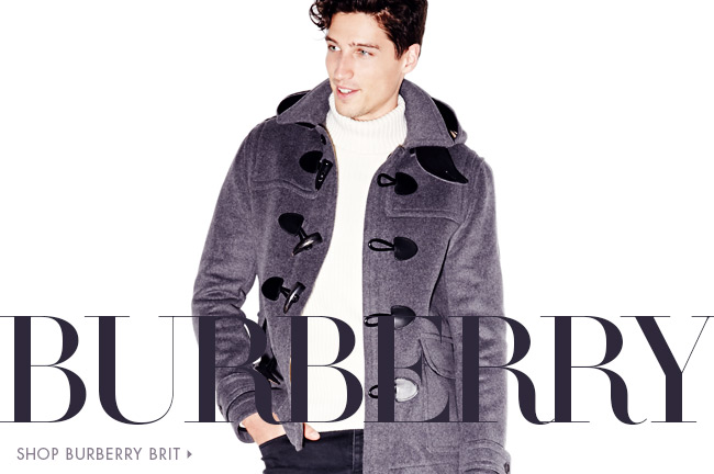 Burberry: Men's Collections
