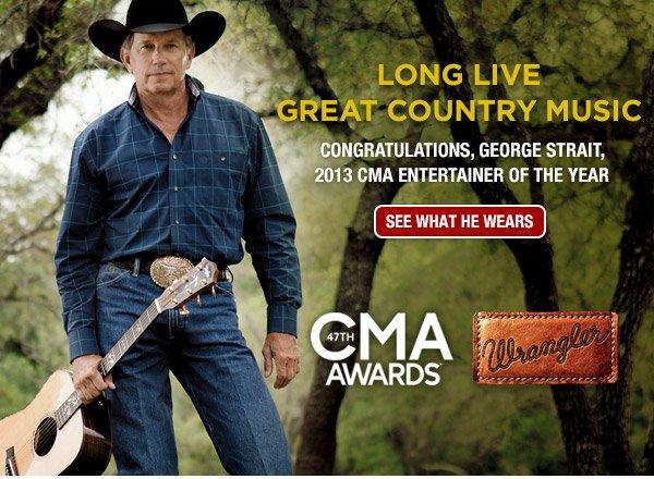 Congratulations, George Strait!