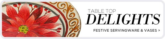 Table Top Delights - Shop Now