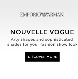 NOUVELLE VOGUE Arty shapes and sophisticated shades for your fashion-show look