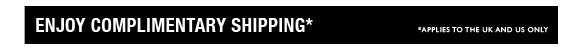 Enjoy Complimentary shipping