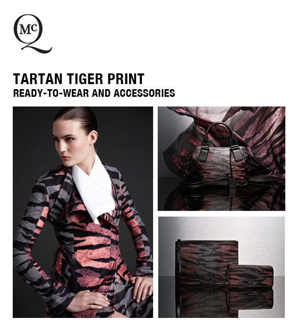 Tartan Tiger Print: Ready-To-Wear and Accessories