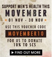 Support Movember!