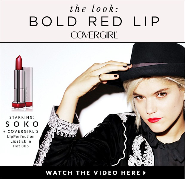 CoverGirl's Bold Red Lip