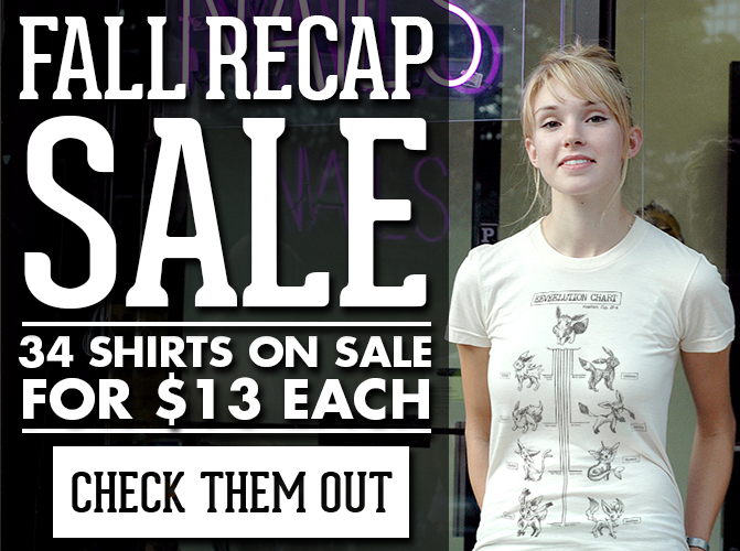 34 Shirts for $13 Each - Click Here!