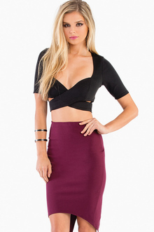AS LONG AS YOU SCUBA CROP TOP 28
