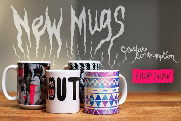 Introducing Mugs on Society6!