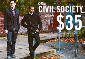 Shop New Civil Society from $35