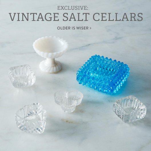 Vintage Salt Cellars