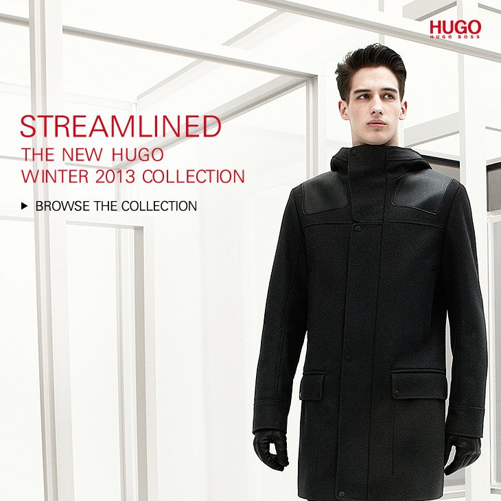 Discover the new HUGO Collection Winter 2013