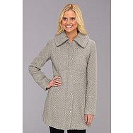 Jessica Simpson Textured Wool Coat