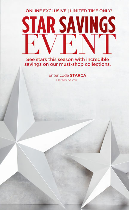Shop the Star Savings Event!