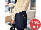 Inset Shorts Skirt