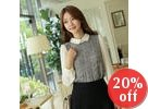 Inset Blouse Knit Top