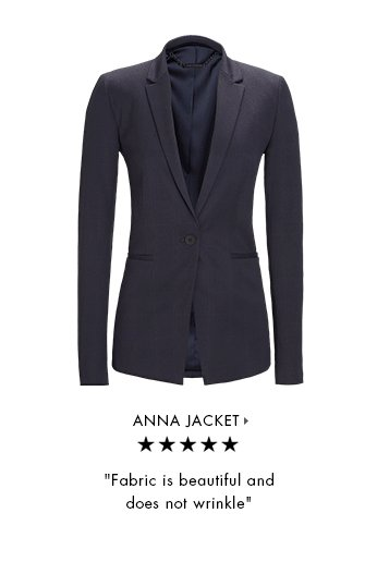 ANNA JACKET » | Fabric is beautiful and does not wrinkle