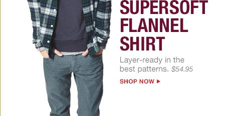 SUPERSOFT FLANNEL SHIRT | SHOP NOW