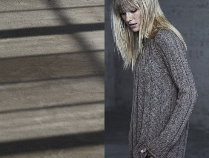 JAMES PERSE LOS ANGELES -CABLE KNIT SWEATERS