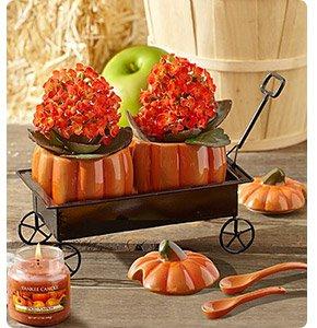Festive Fall Pumpkin Hayride