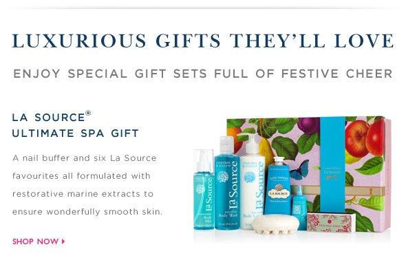 Shop La Source Ultimate Spa Gift.